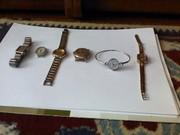 Продам механические и кварцевые нерабочие часы на запчасти.