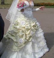 Свадебное платье для королевы!