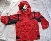 Термо куртка подростковая красная унисекс