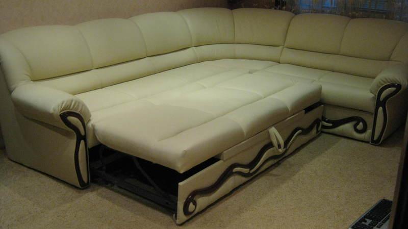 Угловая мягкая мебель, фото