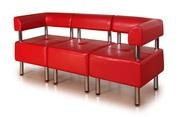 Офисный модульный диван Домино
