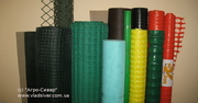 Пластиковые заборы и ограждения,  сетка вольерная и садовая