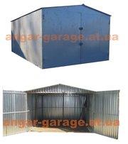 металлический гараж для легкового авто или автобуса,  сборно-разборной