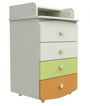 Комод-пеленатор (90*60*51),  Пеленальный комод,  Мебель для новорожденны