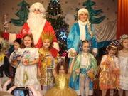 Поздравление Деда Мороза и Снегурочки для Ваших детей.