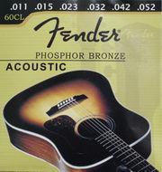Струны Fender (1152) Фосфорная Бронза