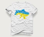 Акция! Мужская футболка «Карта Ukraine» за 129грн.