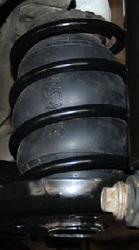 Пневмобаллоны Hyundai Elantra (2006 - 2010) пневмоподушки в пружины