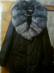Пальто с кроликовой подстежкой