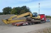 Негабаритные перевозки Чернигов,  перевозка негабаритных грузов тралом