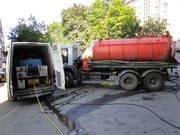 Чистка промышленной канализации гидродинамическим методом