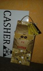 Кофе в зернах Casher «Два зерна»