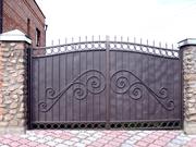 Заборы,  ворота из металла под заказ. Художественная ковка