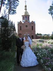 Свадебное платье, красивое