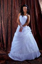 Фееричное свадебное платье